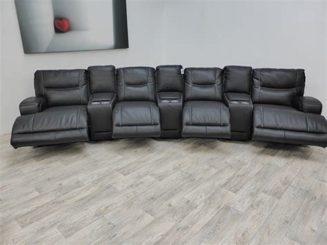 Automatic Reclining Sofa by Teatro Electric Reclining Cinema Sofa Furnimax Brands Outlet