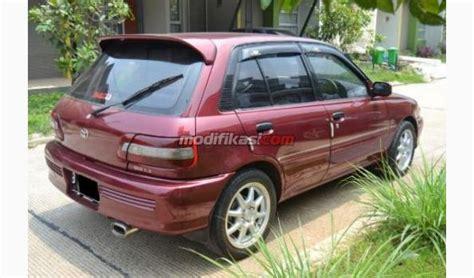 Alarm Mobil Starlet jual toyota starlet 1 3 seg turbo look merah 1997 mantab modifikasi jual beli