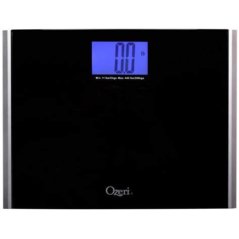 easy read bathroom scales ozeri precision pro ii digital bathroom scale tempered