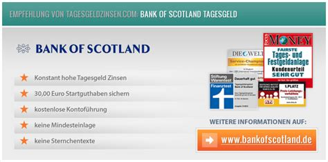 bank of scotland tagesgeldkonto bank of scotland k 252 ndigt zinssenkung auf 1 40 an