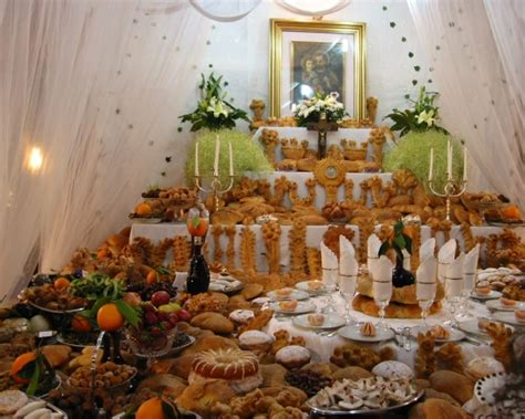 tavolata di san giuseppe festa di san giuseppe in sicilia appuntamenti fra