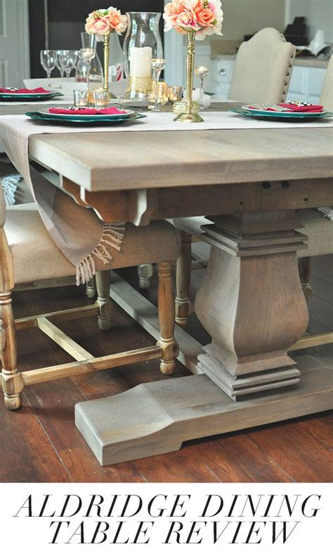 restoration hardware style table want a restoration hardware style dining table this