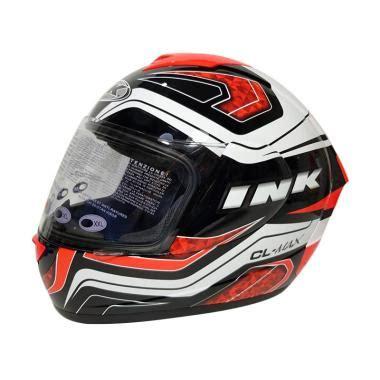 Helm Ink Cl Max 4 Black Fluo jual helm ink cl max terbaru harga diskon original