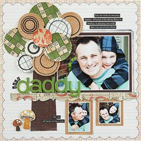father s day scrapbook layout craft 14 best images about scrapbook page ideas on pinterest