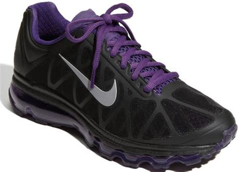 purple mens running shoes nike air max running shoe in purple for black