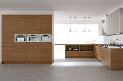 types of laminate kitchen cabinets flat cut walnut slab door stunning wood veneer kitchen