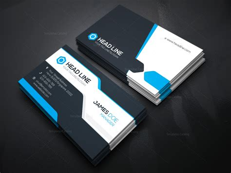 Stylish Visiting Card Template 000085 Template Catalog Business Card Template