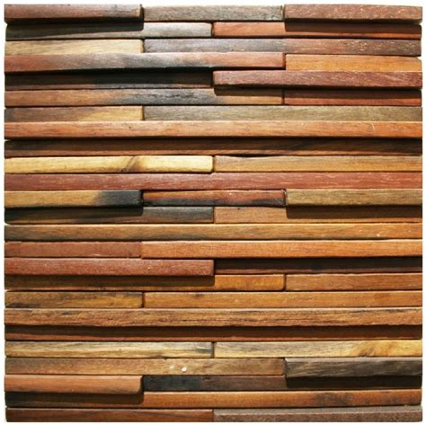 wood mosaic tile rustic wood wall tiles nwmt003