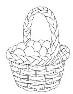 Basket Coloring Pages Sheets Free  sketch template