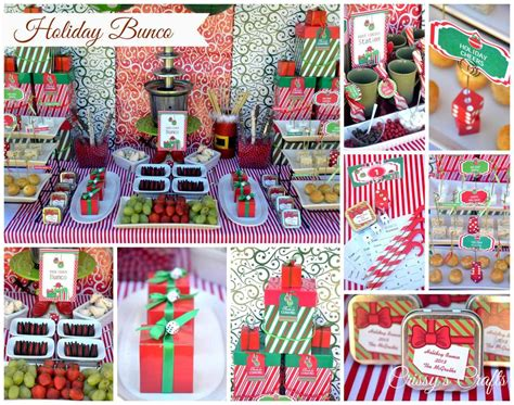 christmas bunco themes bunco ideas photo 1 of 17 catch my