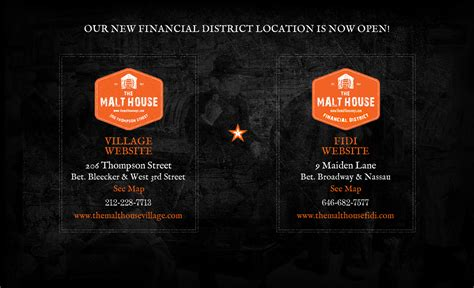 the malt house nyc the malt house american tavern two locations in