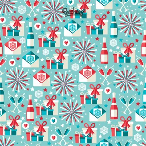 christmas pattern blue blue christmas seamless pattern free vector in adobe