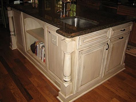 distressed wood kitchen cabinets cream distressed kitchen cabinets kitchen renovation