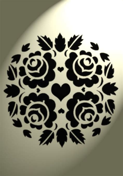 Kz08 Stencil Flower D Stensil Cetakancraft Scrapbooking 5357 best images about 切り絵 on stencils drawings and alabama