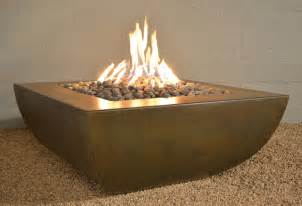 Modern Firepits Legacy Square Pit Modern Pits Other Metro By Yard