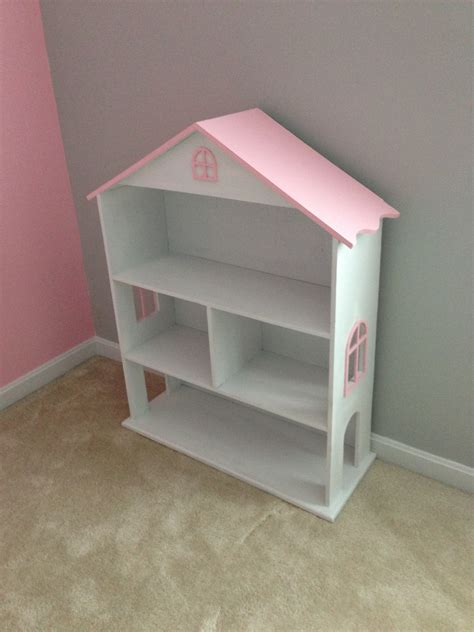 white modified dollhouse bookcase diy projects