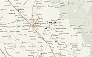 sanger texas map sanger location guide