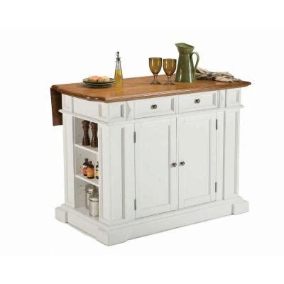 kitchen island with 4 stools home styles kitchen island 49 3 4 in w in white with oak and 2 stools 5002 948 the home depot