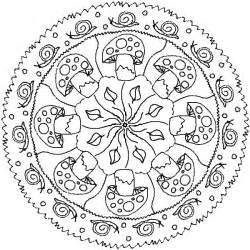 fall mandala coloring pages cooloring
