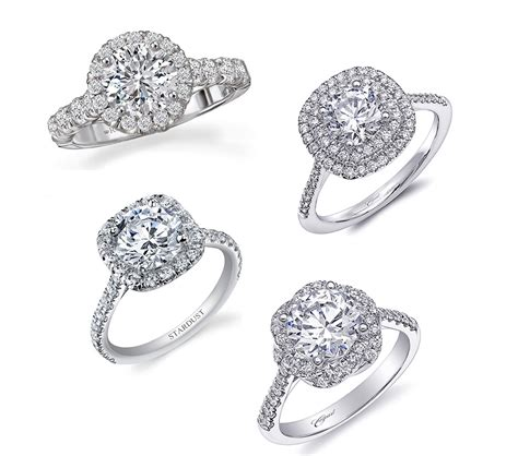 12 popular types of engagement ring setting