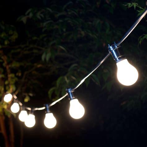Weatherproof Festoon Lighting   50 Black Bulb Holders   Lyco