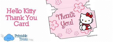 Hello Thank You Card Template by Printable Hello Thank You Cards Printable Treats