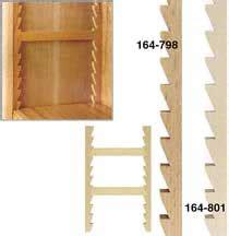 woodworker adjustable wooden shelf supports