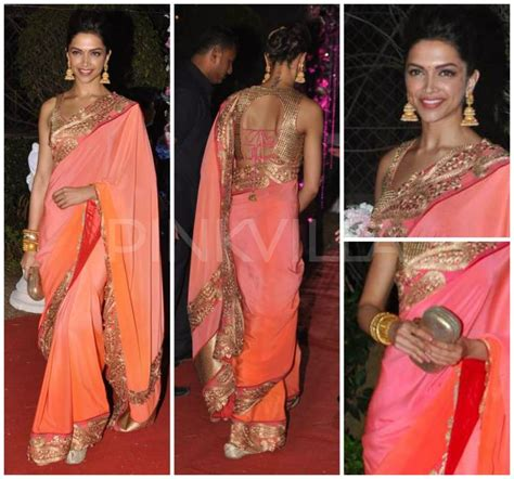 Jali Home Design Reviews by Deepika Padukone Style Saree Collection 20