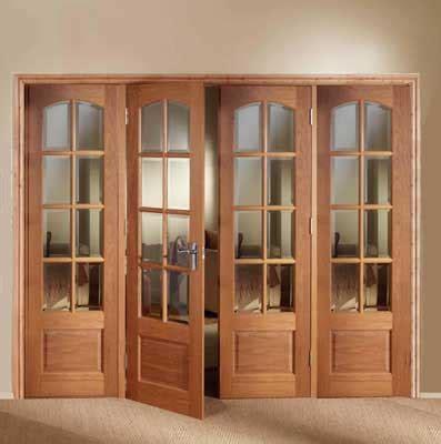 Folding Wooden Doors Interior Homeofficedecoration Doors Interior Folding