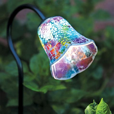 tulip solar lights mosaic solar light tulip buy at qd stores