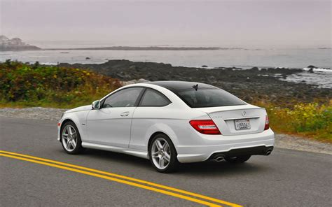 2012 mercedes c350 coupe editors notebook
