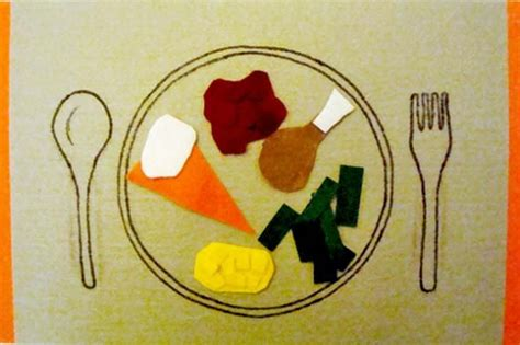 thanksgiving placemat craft for diy felt food thanksgiving placemat prek can do s
