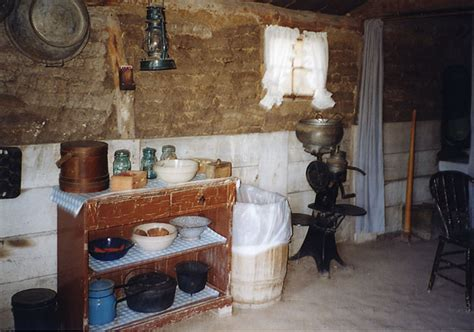 Dirt Floors In Houses by Sod House Interior
