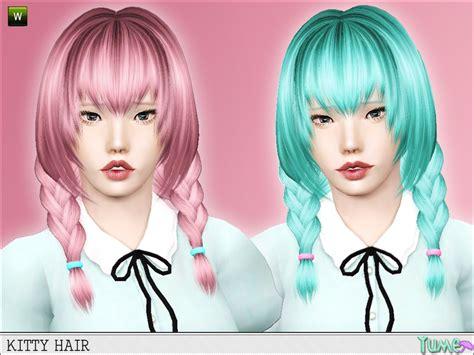 sims 3 anime hair zauma s yume kitty hair