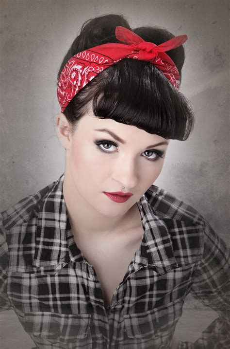 casual rockabilly hairstyles casual rockabilly look google search hair styles