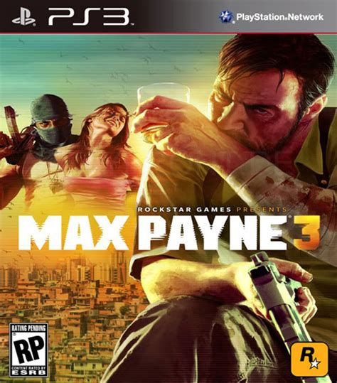 Max Payne 3 Ps3 max payne 3 official packshot released