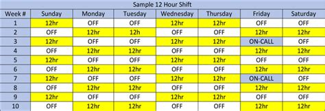 12 hour swing shift schedule shift workers schedule vertola