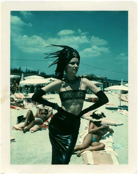helmut newton polaroids helmut newton vogue it