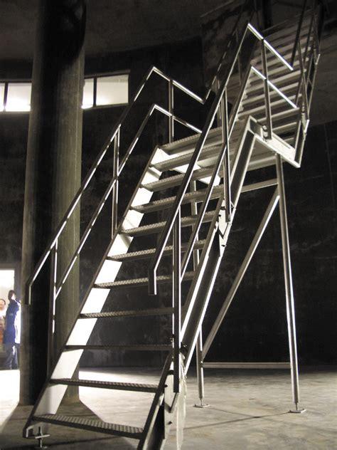 edelstahl treppe treppen gel 228 nder elementbau glogger