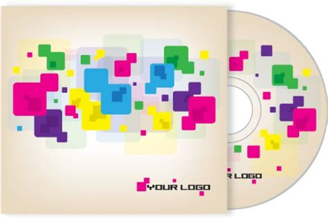 design free cd cover cd cover design vector free download