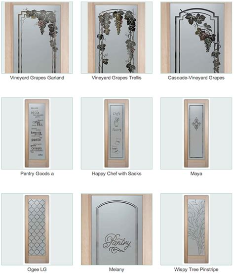 interior pantry doors with glass glass pantry doors pantry doors with glass designs