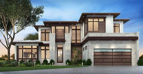 modern home design and build plan 86039bw master down modern house plan with outdoor