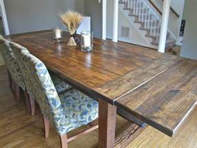 pdf plans rustic dining table plans pull out