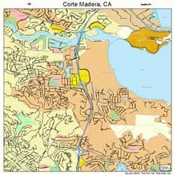 map of madera california corte madera california map 0616462