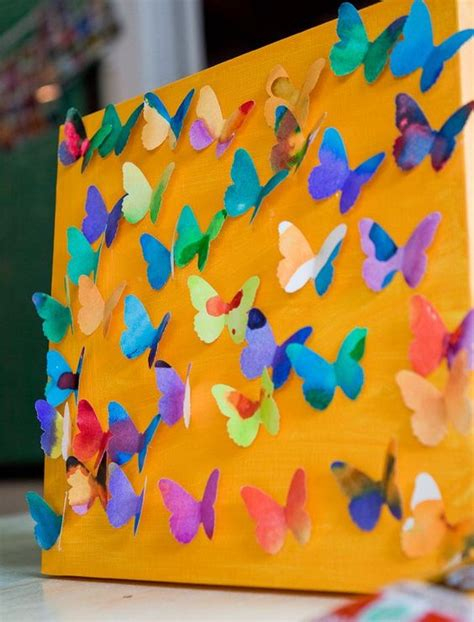 3d craft projects butterflies 3d craft and 3d on