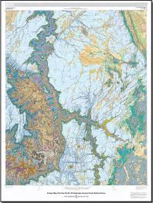 arizona geology geologic map of the tuba city 30 x 60