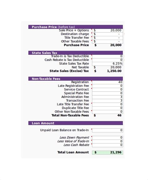 balloon mortgage or loan calculation using online calculator