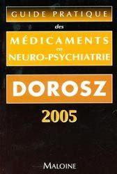 Guide Pratique Des M 233 Dicaments En Neuro Psychiatrie