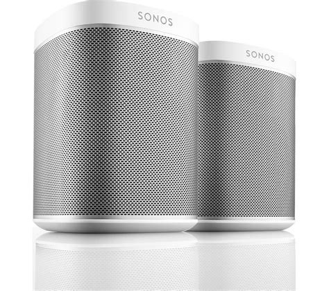 sonos multi room review buy sonos play 1 wireless multi room speaker bundle white free delivery currys