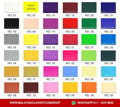 what color is clay upgraded high quality polymer clay 1 pc x 60g